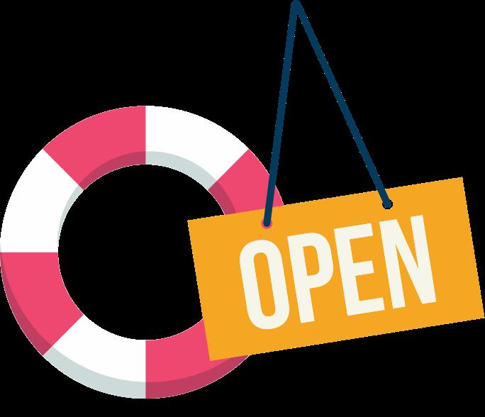 Self-service open